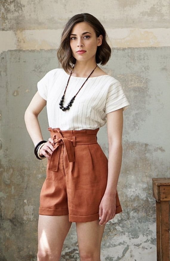 Paper Bag Shorts Is One Of The Few Pieces Of The Very First Collection Of Comely Fashion Paper Bag Shorts Fashion Outfits