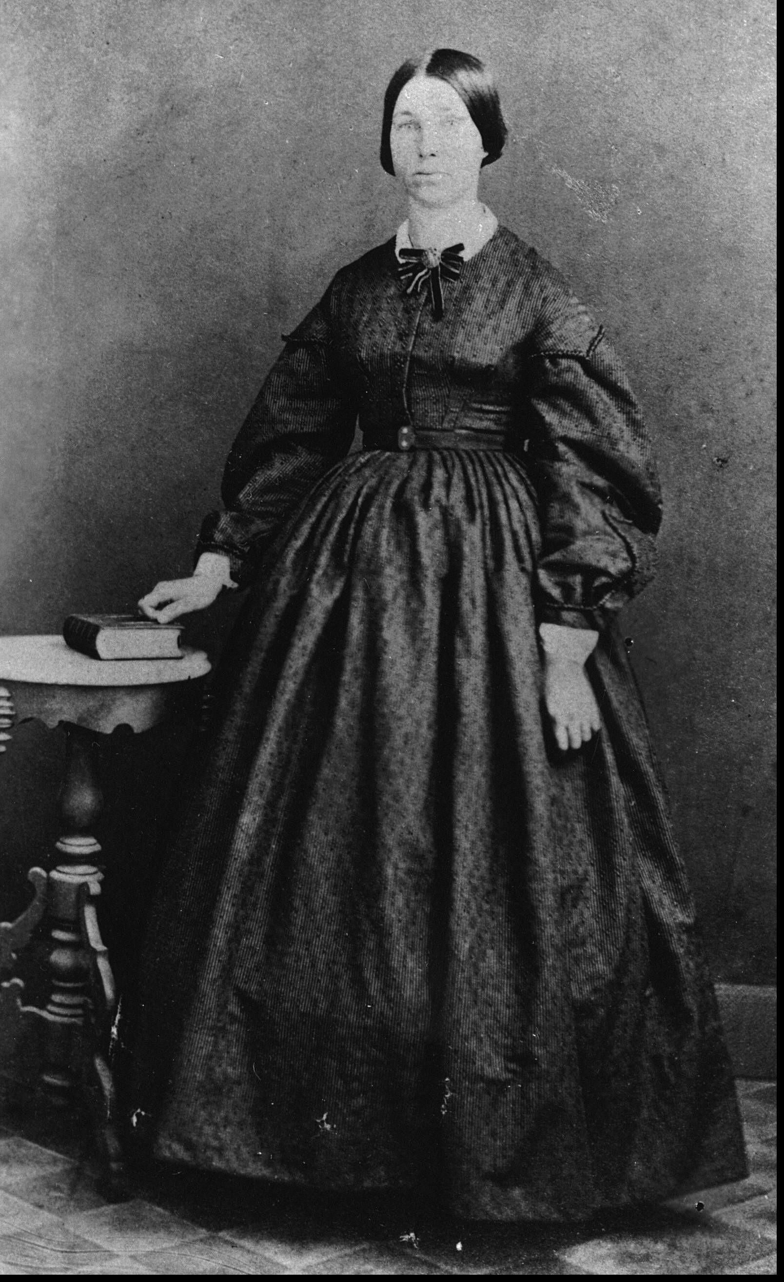 Hannah Maria LENNEY (1829-1868), maried Nov 1850, George Marzebach ...