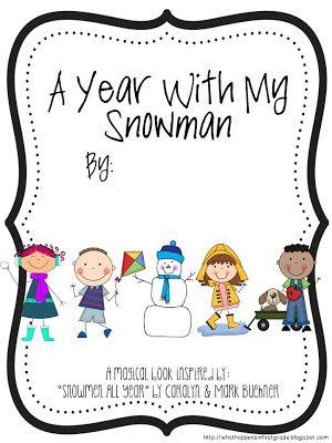 Snowmen all year book ideas