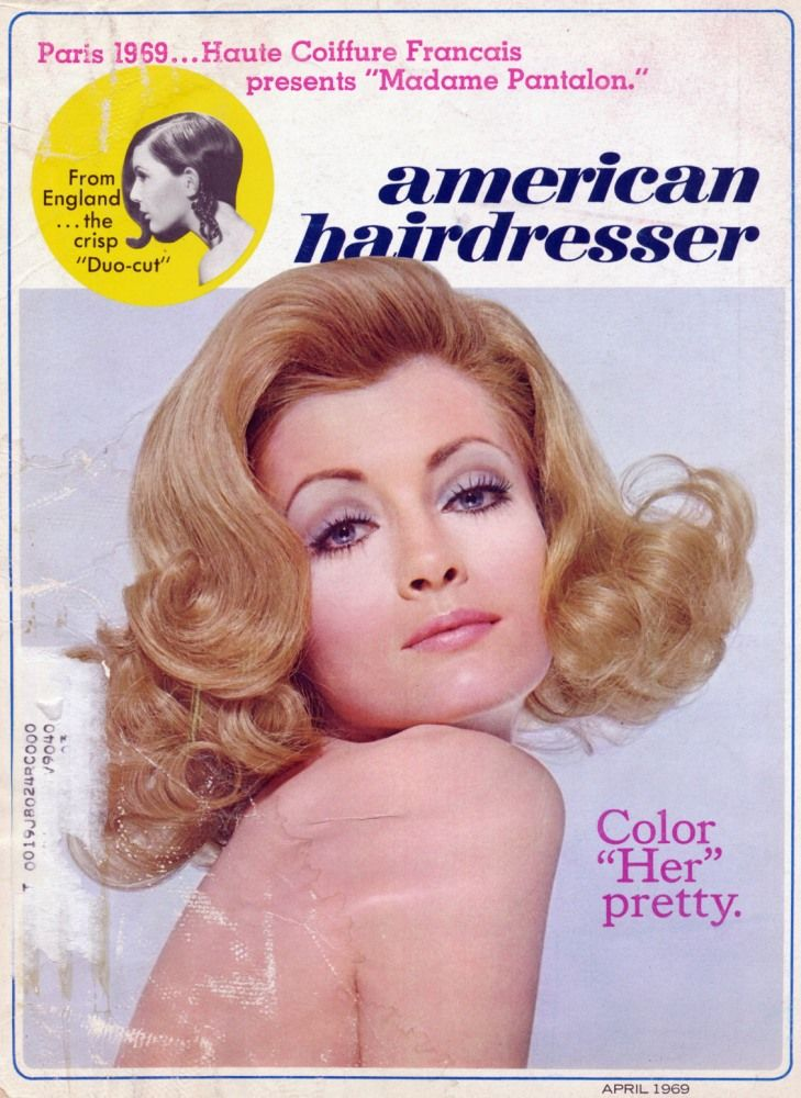 American Hairdresser April 69 Im Lucky Enough To Have A Number Of