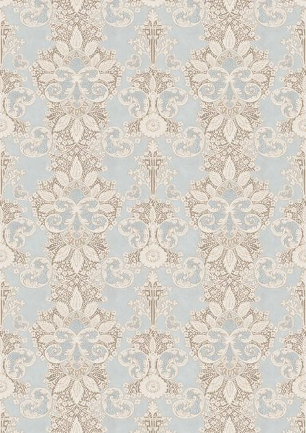 Rococo OASIS Wide Width Wallpapers by Lewis & Wood