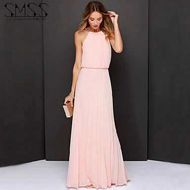 Pretty in Pink Party Maxi Dress
