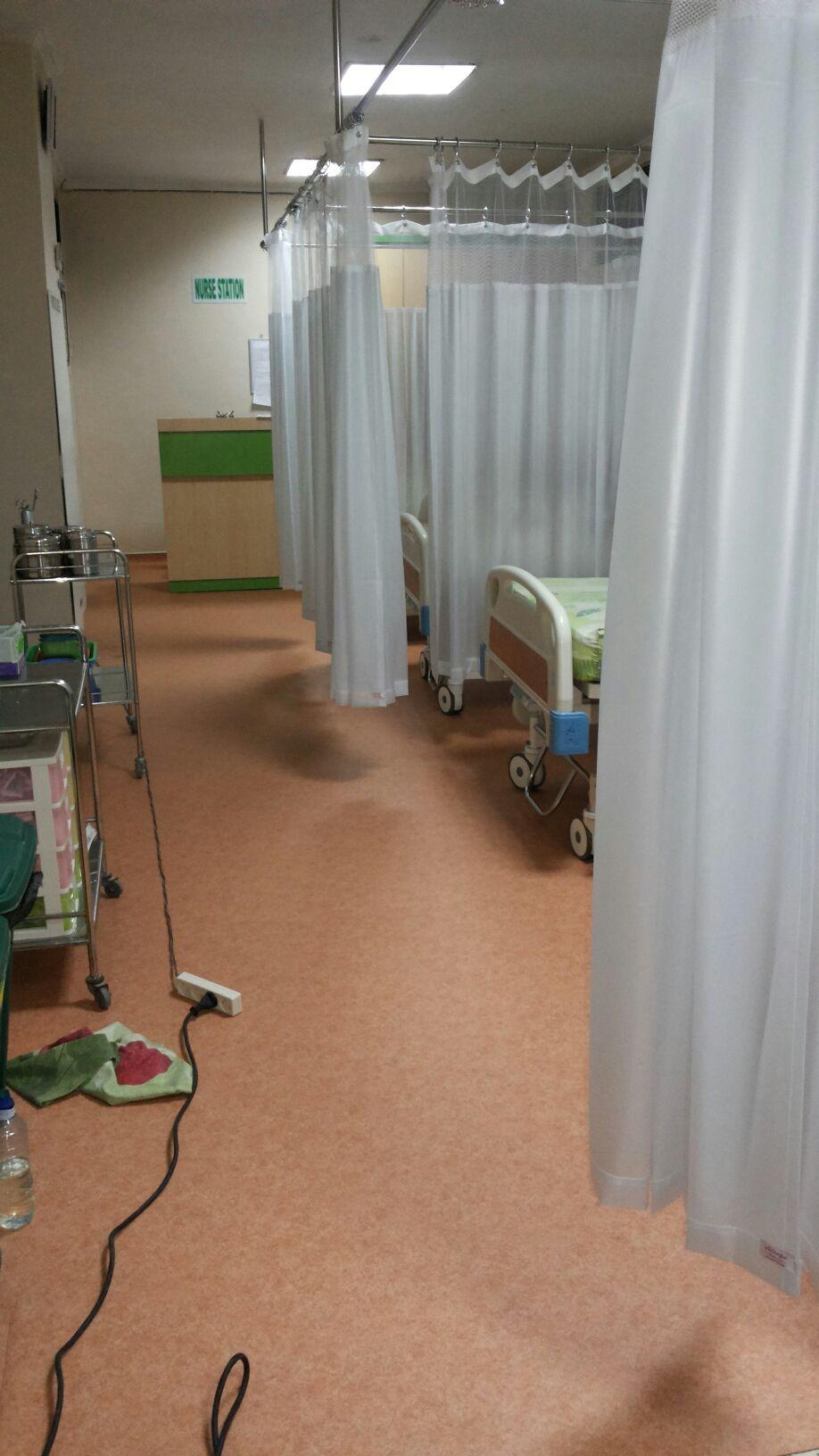 Hasil Pemasangan Lantai Vinyl Kami Hospital Pertiwi Makassar