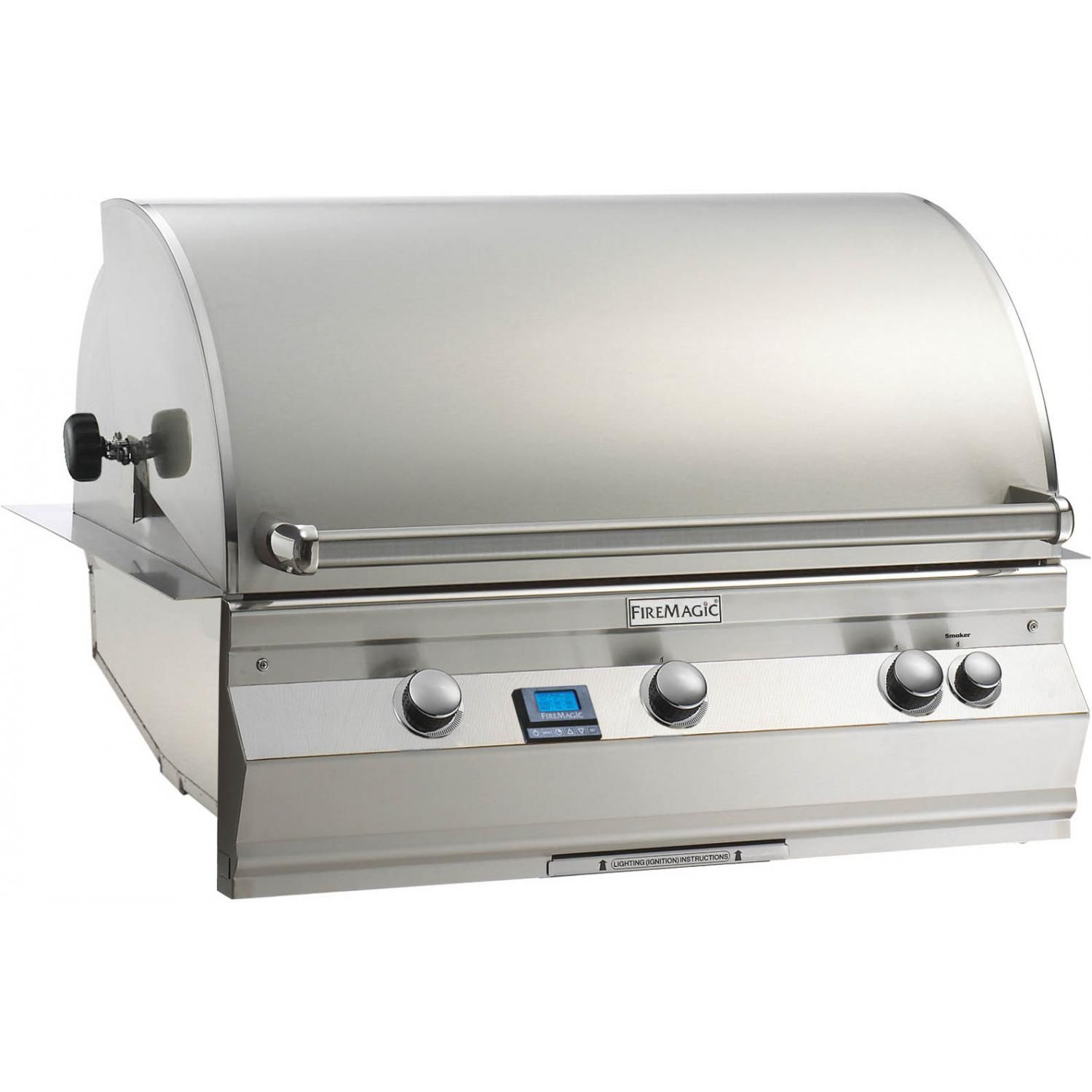 Outdoor Kitchen Grill Firemagic Aurora A790i 6e1n In Stainless Steel With Images Built In Grill Gas Grill Natural Gas Bbq Grill