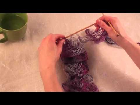 Knitting with Patons Pirouette | Scarfs | Pinterest