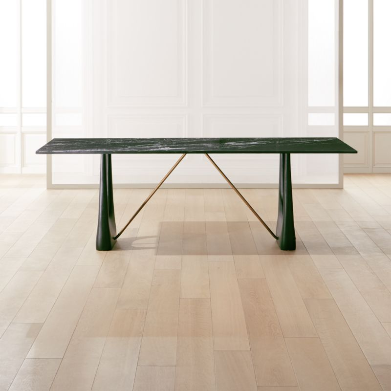 Rocco Rectangular Marble Dining Table Reviews Cb2 Dining