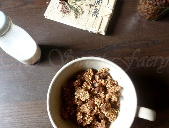 My Sweet Faery: Grawnola orange et cacao