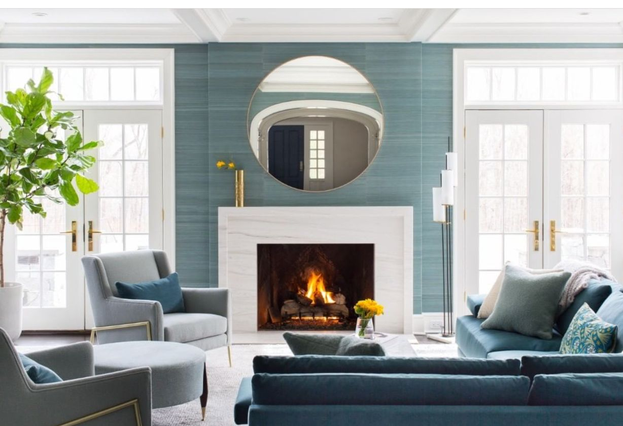 Pin By Kal Designs On Fireplace Wall Interior Design Design Llc Interior