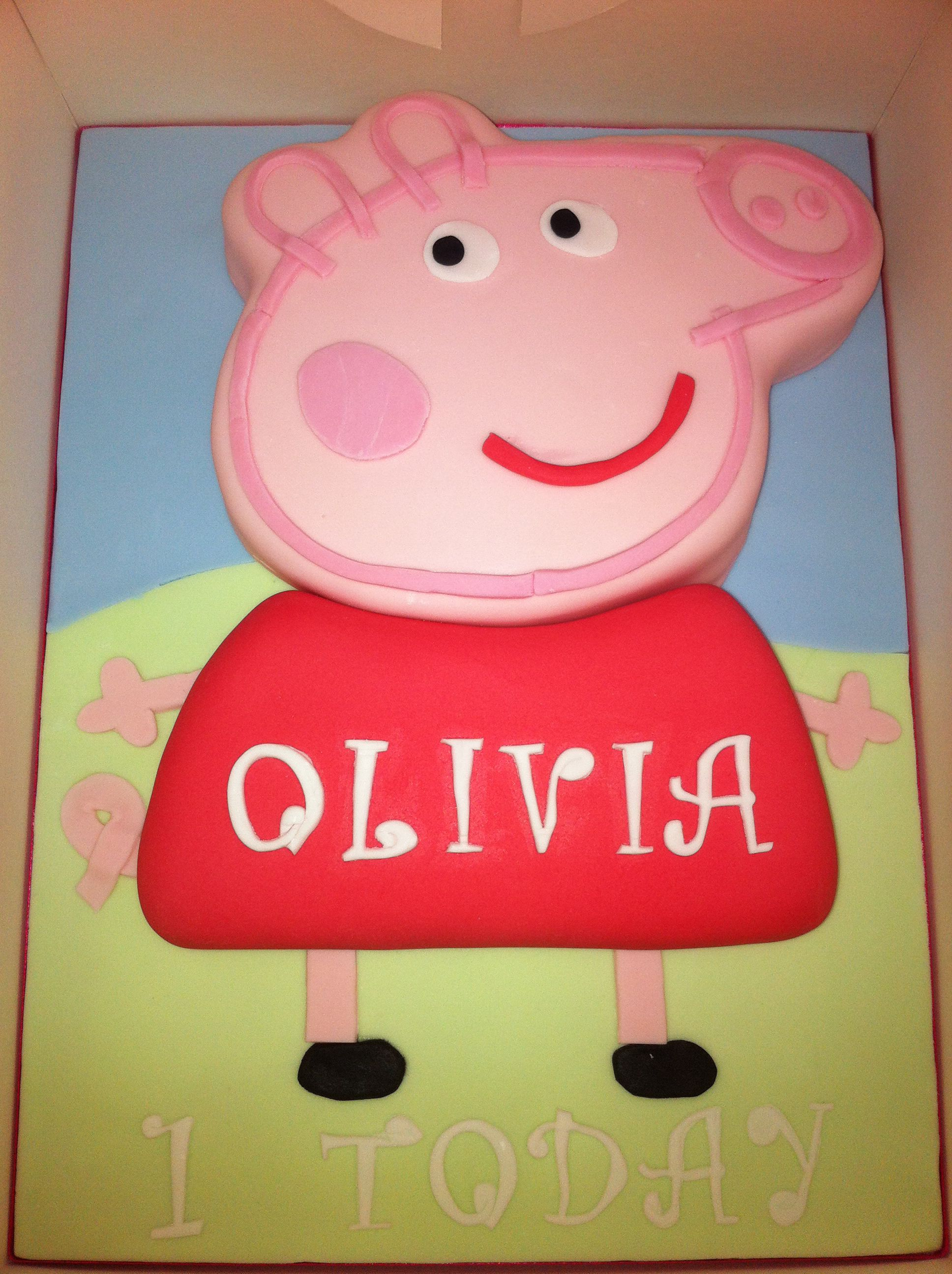 Peppa Pig cake 2