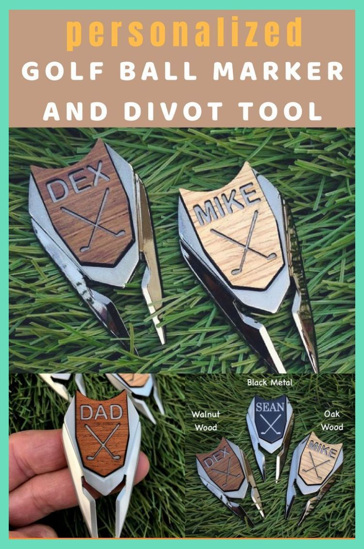 Unique golf gifts for men.  Personalized golf gifts for boyfriend, gift for husband or brothe... #christmasgiftideasforboyfriend