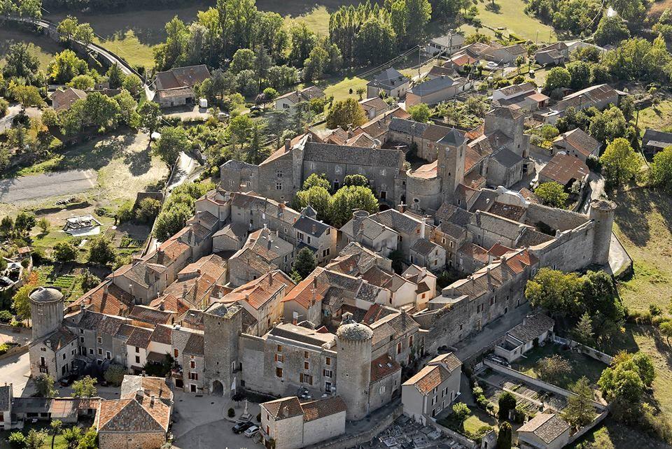 Sainte Eulalie de Cernon. Templar city
