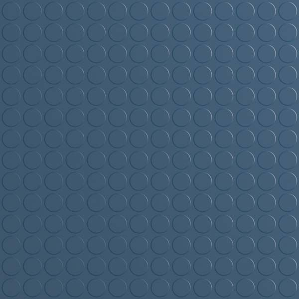 Dark Blue Studded Rubber Flooring Tiles