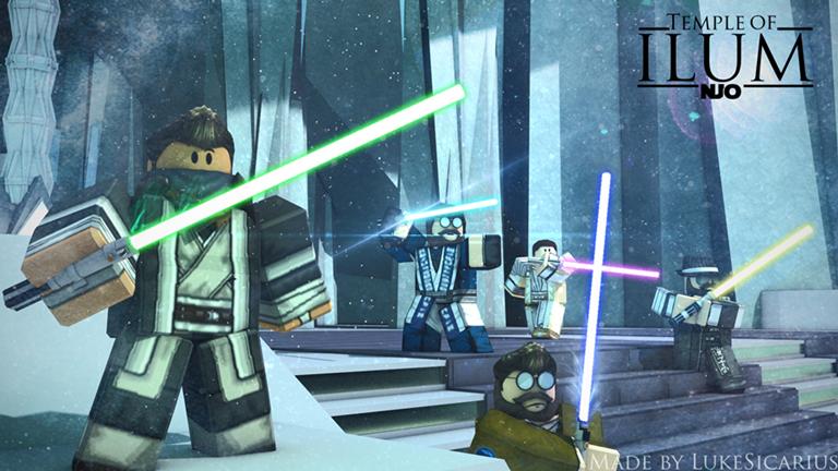 Njo Jedi Temple On Ilum Beta Roblox Roblox Jedi Lightsaber