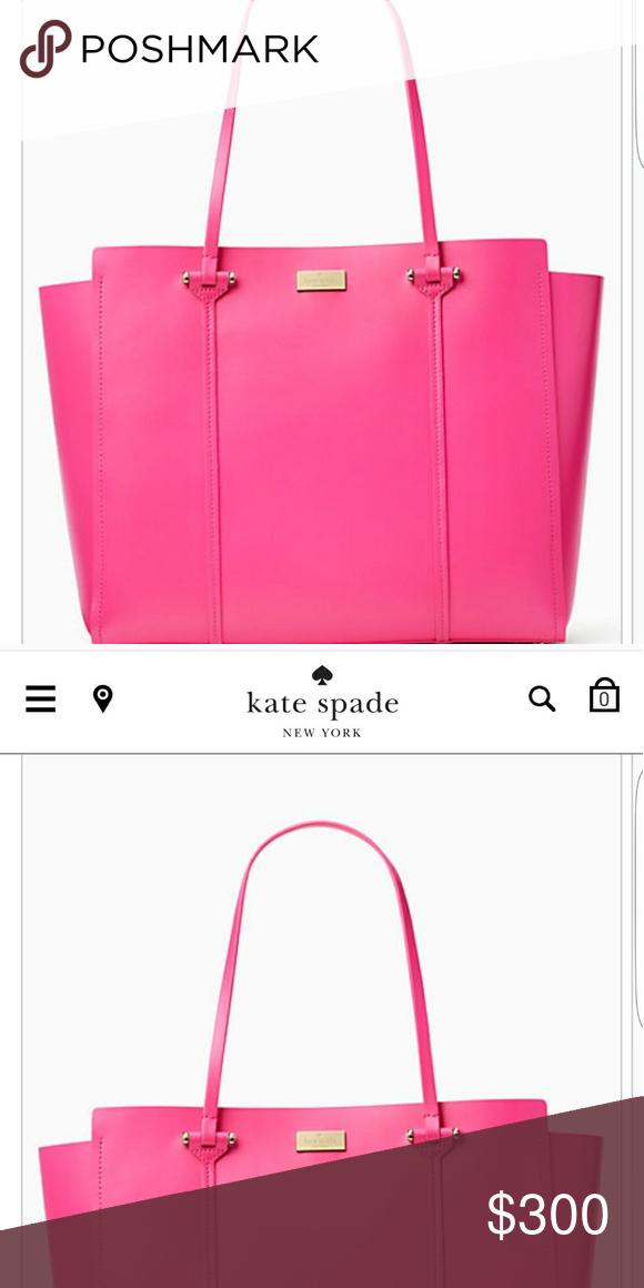 Kate Spade Purse Beautiful Kate Spade Purse Pink Outside, Orange inside. kate spade Bags