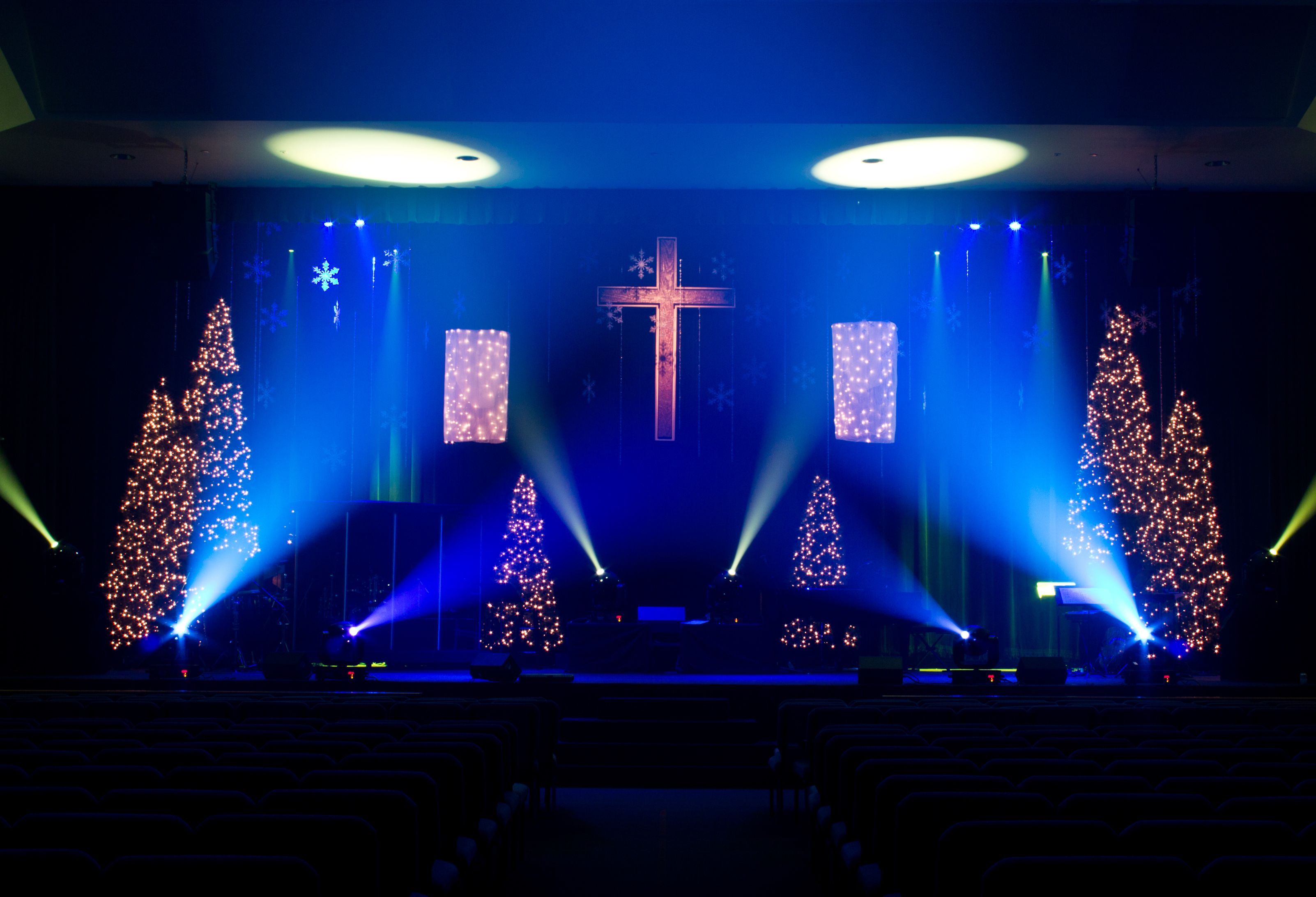 church lighting ideas. stage design first church of god vero beach lighting ideas p