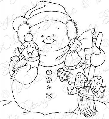 Pin by Deb Rockwell on Snowmen | Christmas coloring pages ...