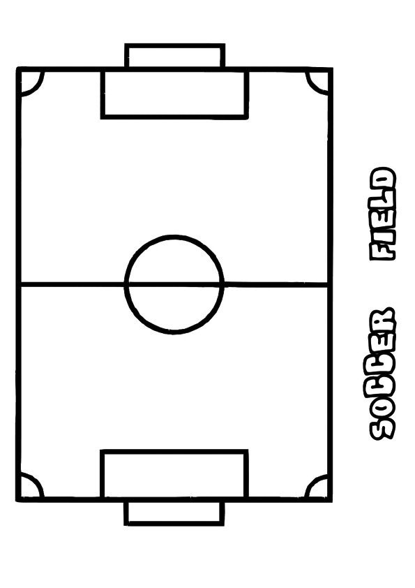 Print Coloring Image Momjunction Coloring Pages Soccer Color