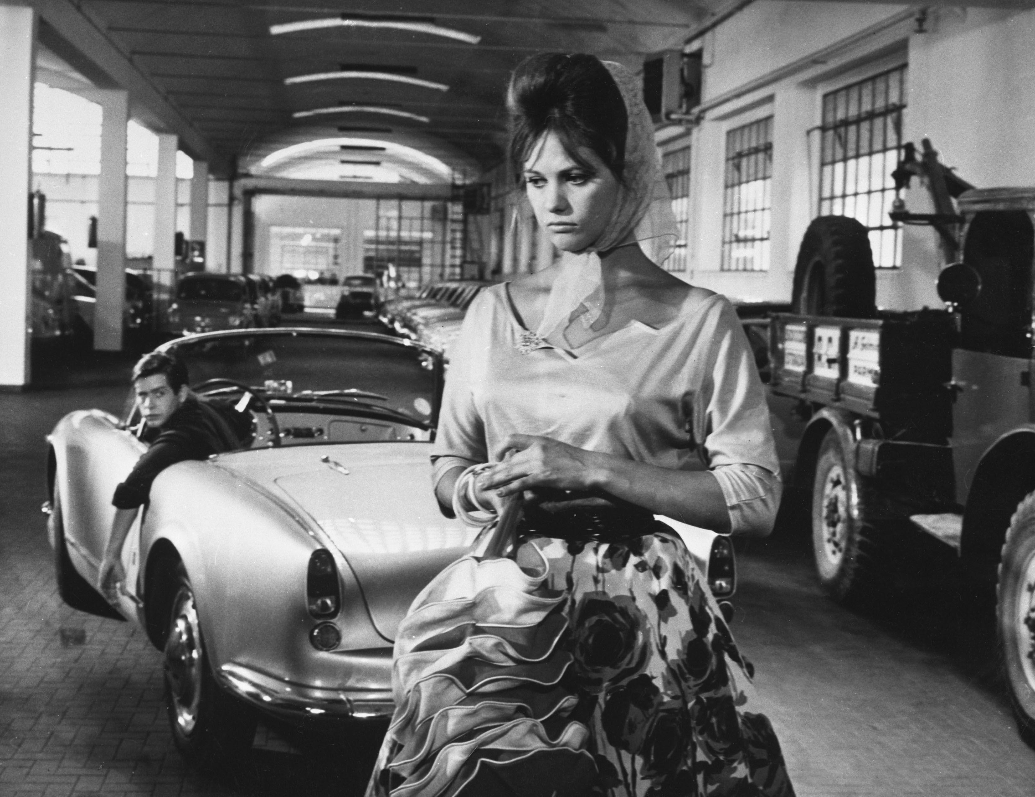 """A Moça com a Valise"" (La Ragazza con la Valigia), Itália/França, 1961, dirigido por Valerio Zurlini."