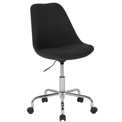 Carnegy Avenue Black Fabric Office Desk Chair Comfortable Office