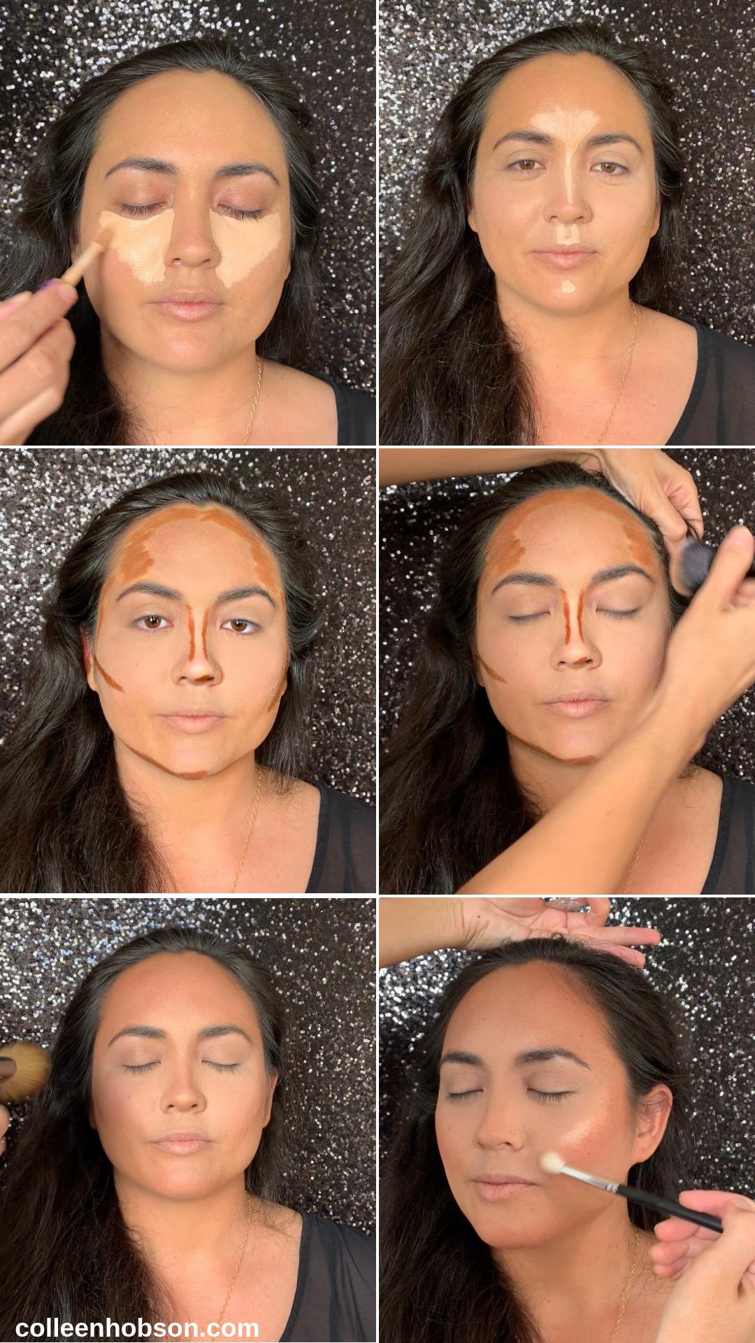 How To Contour And Highlight With Makeup Contour makeup