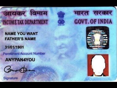 Pan Card Download Soft Copy Print Online With Images Card