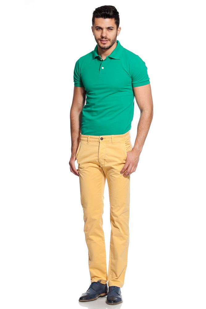 Green Shirt And Khaki Pants Pant So