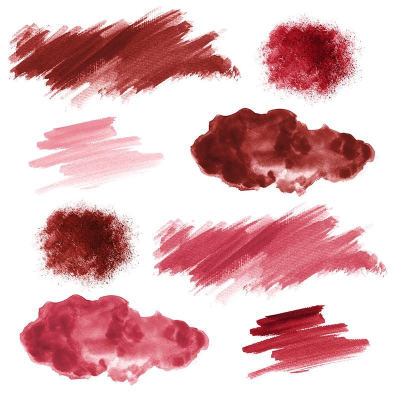 16 Red Watercolor Splotches Splatters Brush Strokes Red Watercolor Clip Art Transparent Background Png Red Watercolor Design Elements In 2021 Green Watercolor Watercolor Design Watercolor Clipart