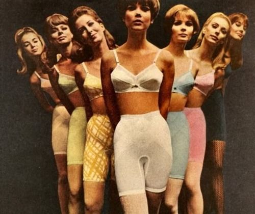 A Rainbow Of 1960s Foundation Garments ... Oh, What We