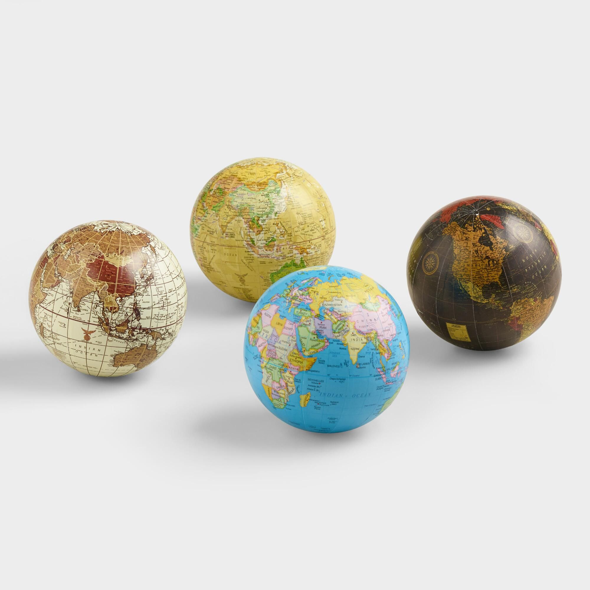 Sphere Globes Set Of 4 By World Market