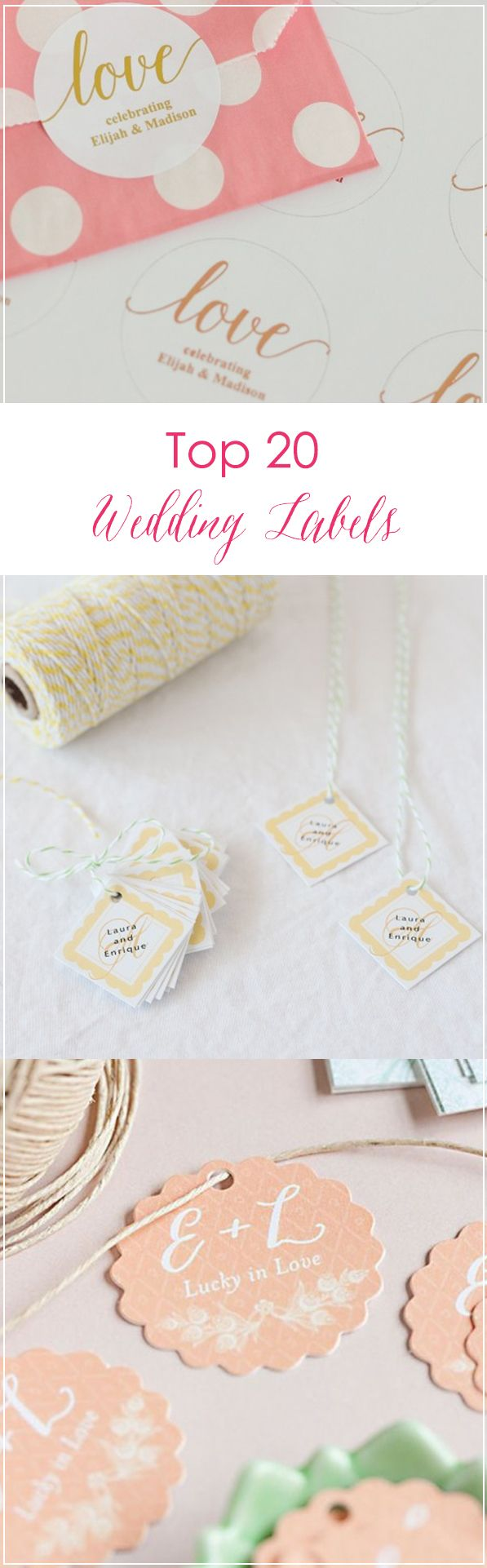 Find the best tags & stickers for your wedding favors! From ...