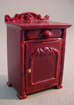 Best Bespaq Miniature Mahogany Belmont Nightstand 1 24 Scale 640 x 480