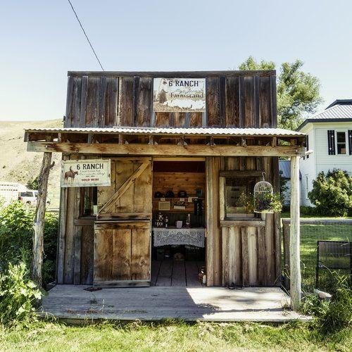 Liza Jane's Farmstand, Wallowa County, OR