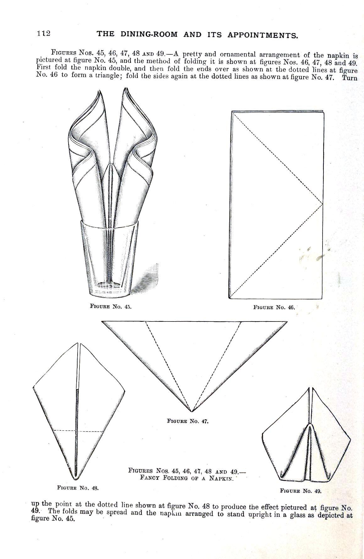 Design Textile Napkin Folding 11 Seek Out Many Awesome