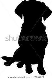 Golden Retriever Silhouette Google Search Labrador Silhouette Golden Retriever Silhouette Dog Silhouette
