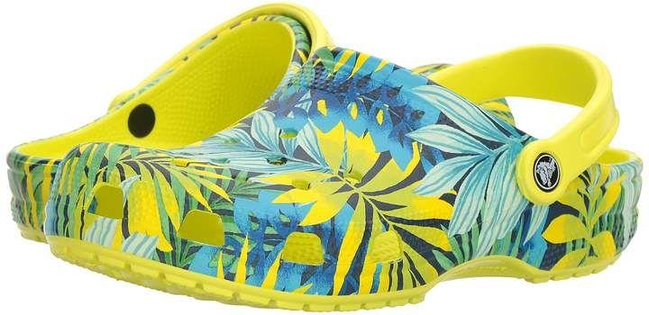 8d317cbbfdffe Crocs Classic Graphic Clog Clog Mule Shoes