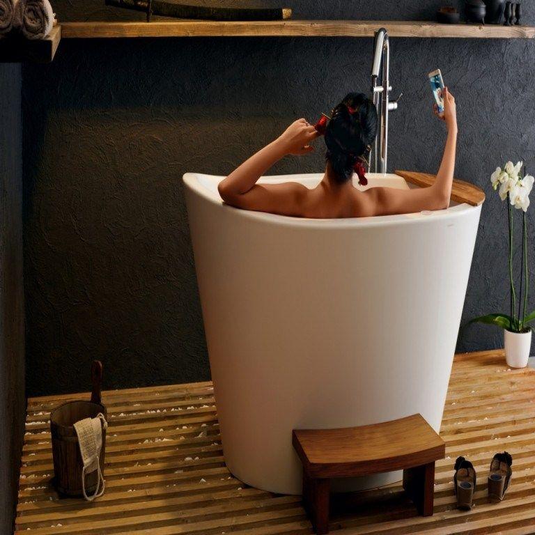 grandiose baignoire japonaise baignoire japonaise bois ...