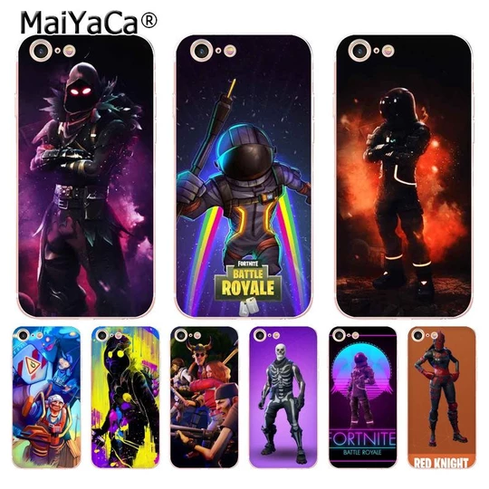 Can You Get Fortnite On Iphone 6 Maiyaca Fortnite Heros Transparent Soft Tpu Phone Case Cover For Iphon Modlilj New Iphone Iphone Models Iphone