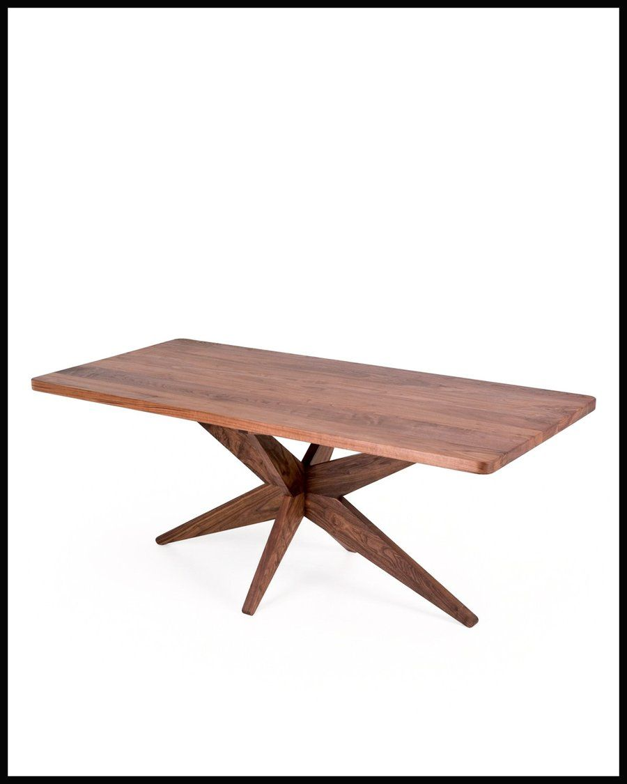 Starfish is a solid wood table with a unique profile created by