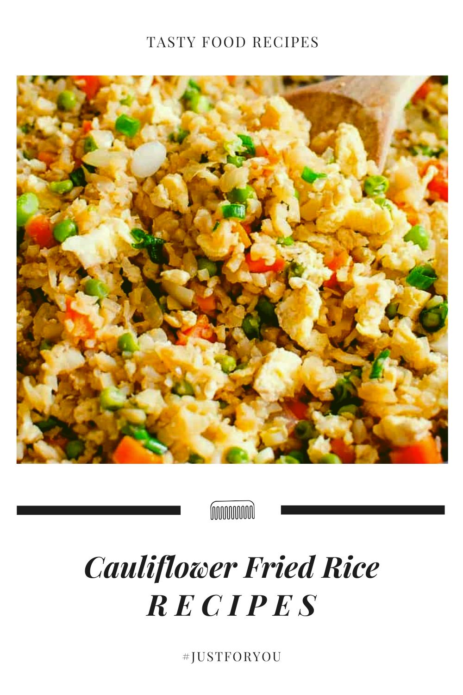 Easy Fried Rice Using Cauliflower