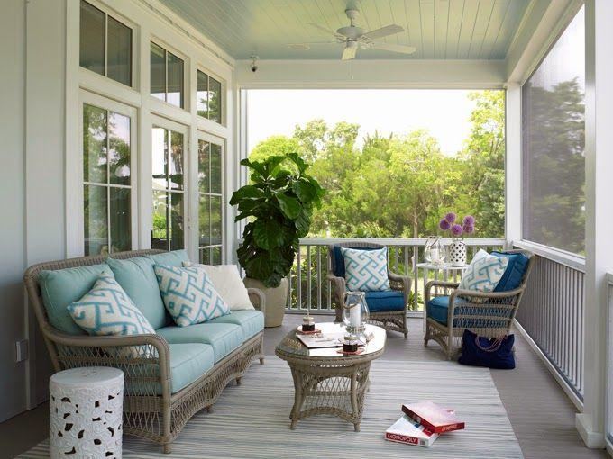 Love this porch | Decoração | Pinterest