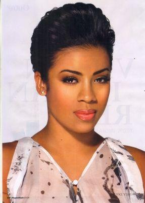 Pleasing 1000 Images About Keyshia Cole Best Hairstyles On Pinterest Short Hairstyles Gunalazisus