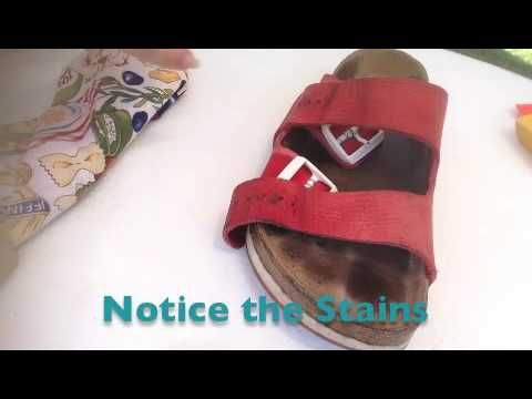 How To Clean Nubuck Or Suede Birkenstock Straps