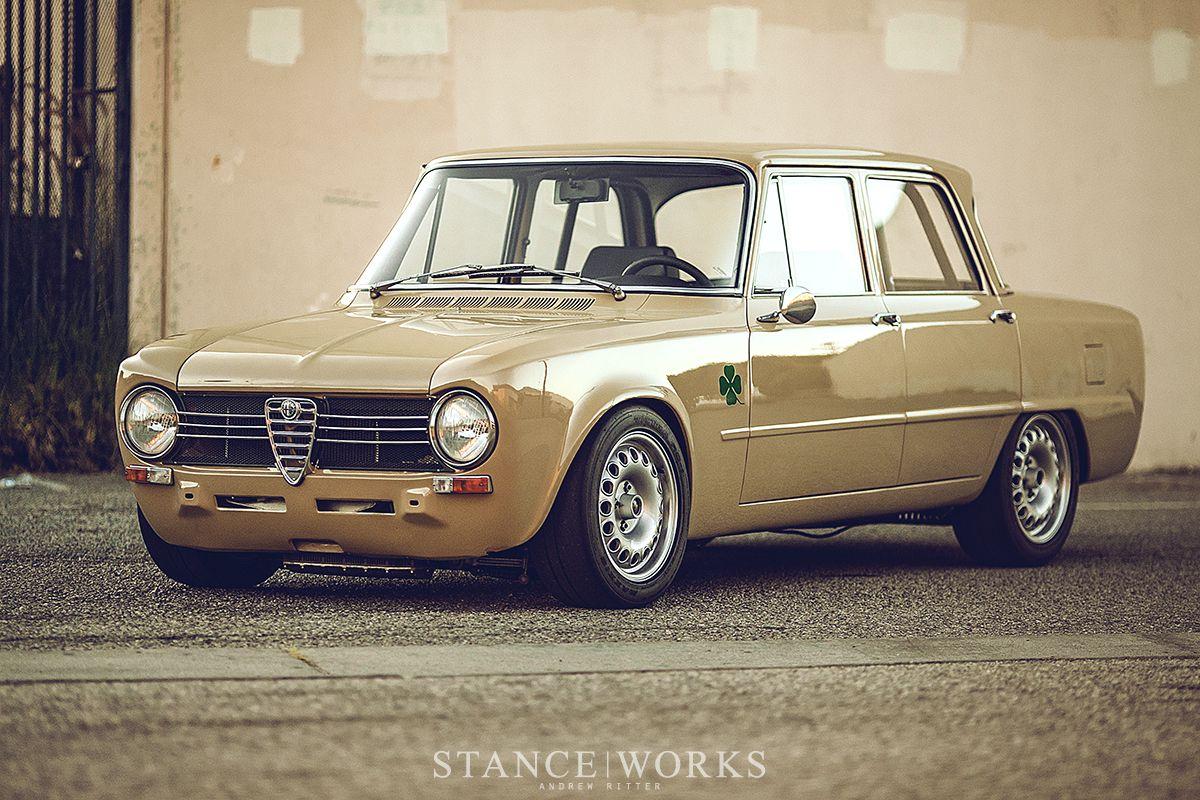 A Look At Dorian S Beige Alfa Romeo Giulia Build Klassieke