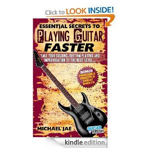 how to play guitar faster