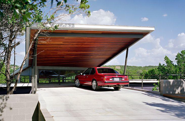 carport ceiling ideas - Cantilever Carport timber lined ceiling