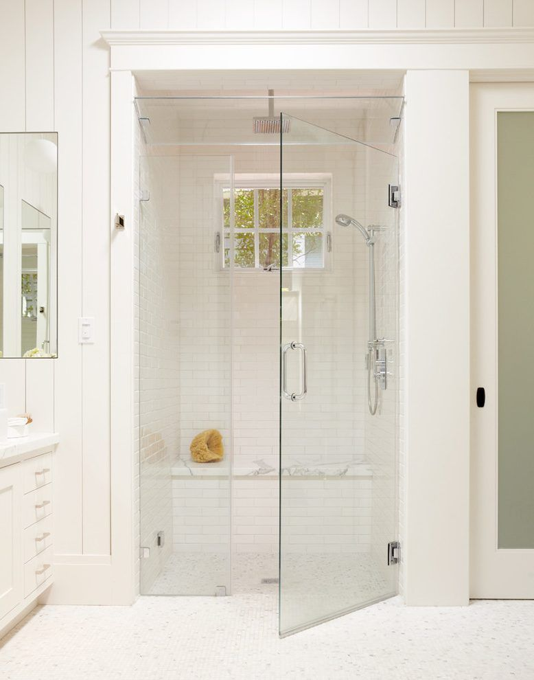 traditional shower designs. Doorless Shower Designs Bathroom Traditional With Tile Floors White