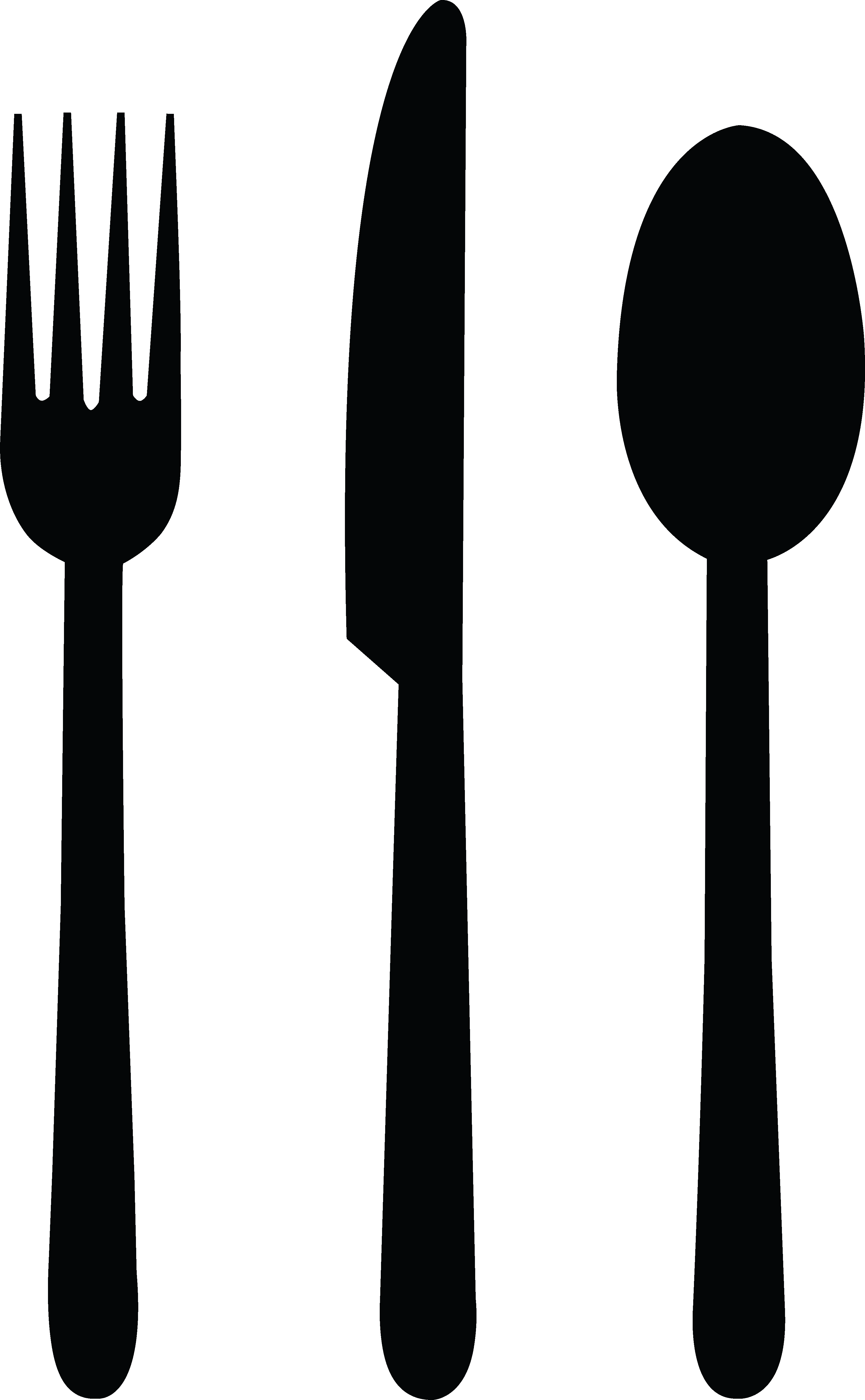 knife and fork clipart clip art library [ 3353 x 5424 Pixel ]