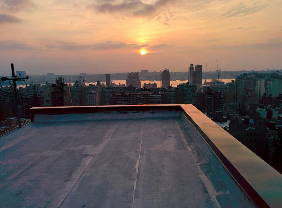 Красивые картинки на крыше здания