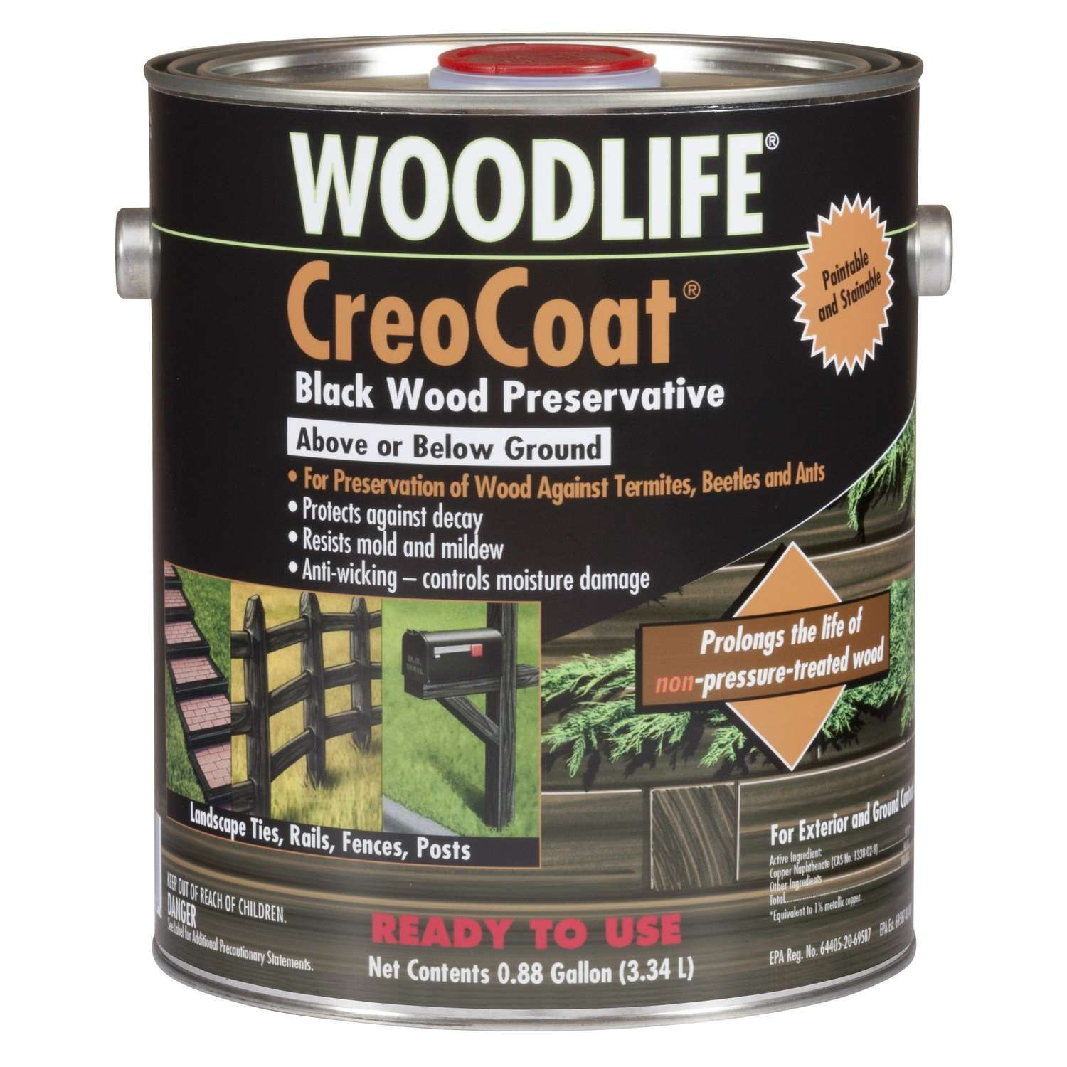 Wolman Woodlife Black Water Based Wood Preservative 1 Gal Ace Hardware In 2020 Exterior Wood Landscape Timbers Termites