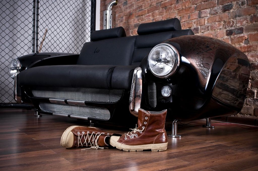 Luxury Furniture Collection Made by Real Car Parts | Luxury ...